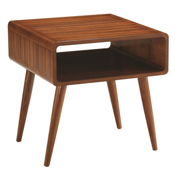Overstock End Tables: Alborg End Table, Zebra Series