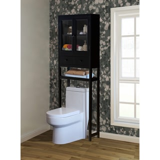 Brown Over The Toilet Space Saver Cabinet