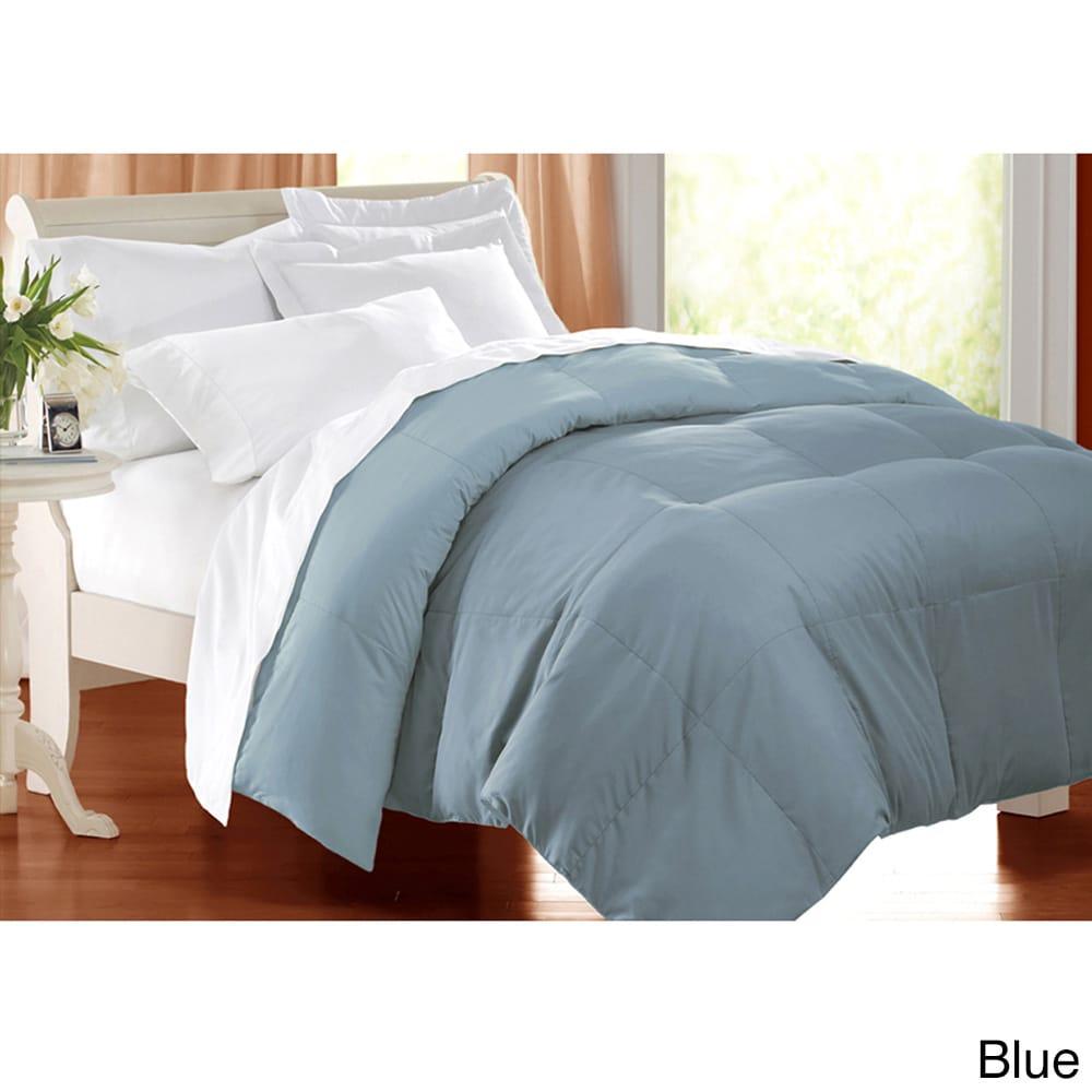 Home Design Down Alternative Color Comforters: Blue Ridge Home Fashions Inc All Season 233 Tc Cotton