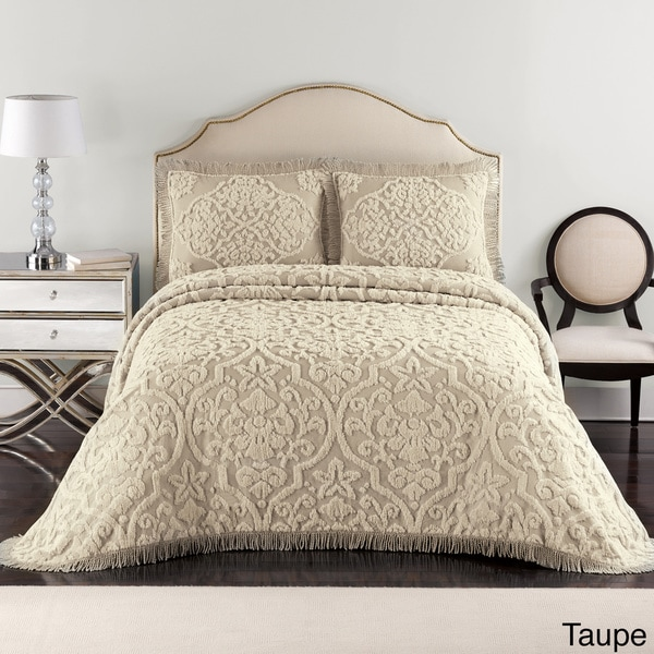 Layla Chenille Bedspread 15565488 Overstock Shopping