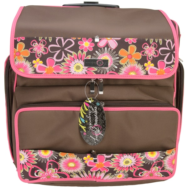 Everything Mary Rolling Scrapbook Tote Overstock