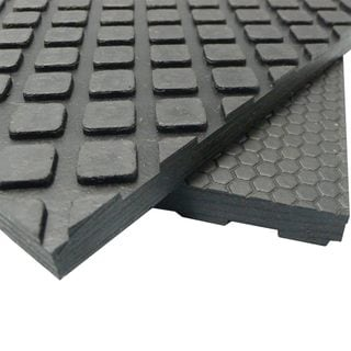 Rubber Cal Maxx Tuff Floor Protection Mats 1 2 Quot Thick