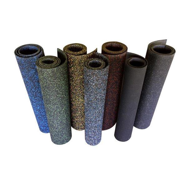 Rubber Cal Elephant Bark Rubber Flooring Rolls 3 8 Inch