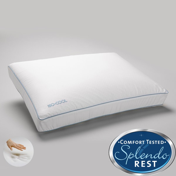 Sleep Better Iso Cool Memory Foam Pillow For Side Sleepers