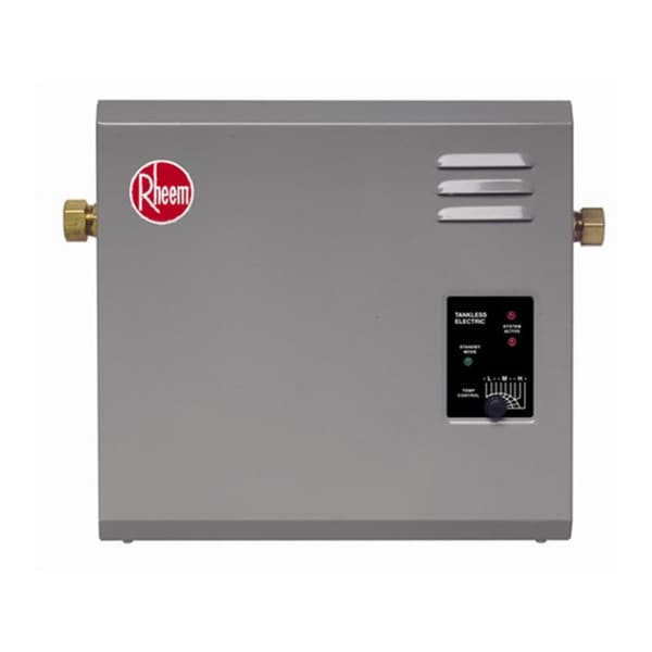 Rheem Rte 18 5 Gpm Electric Tankless Water Heater 15580087 Overstock Com Shopping Big