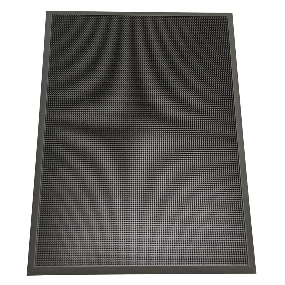 Rubber-Cal Door Scraper Commercial Doormats Black Outdoor ...