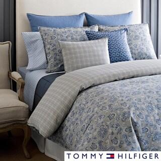 Tommy Hilfiger Princeton Paisley 3 Piece Cotton Duvet