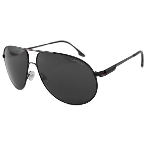 4362d8d3fee Carrera Carrera 58 Men s Black Polarized Grey Aviator Sunglasses Carrera  Fashion Sunglasses