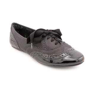Not Rated Women S Black Tie Black Synthetic Dress Shoes