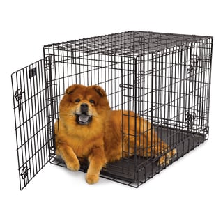 Merry Products Crate N Cage Wooden Pet Crate Side Table 13391514 Overstock Com Shopping