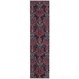 Antiqued Modern Grey Pink Contemporary Area Rug 4 X 5 9