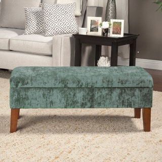Healy Teal Leather Tufted Bench Prices Reviews Amp Deals