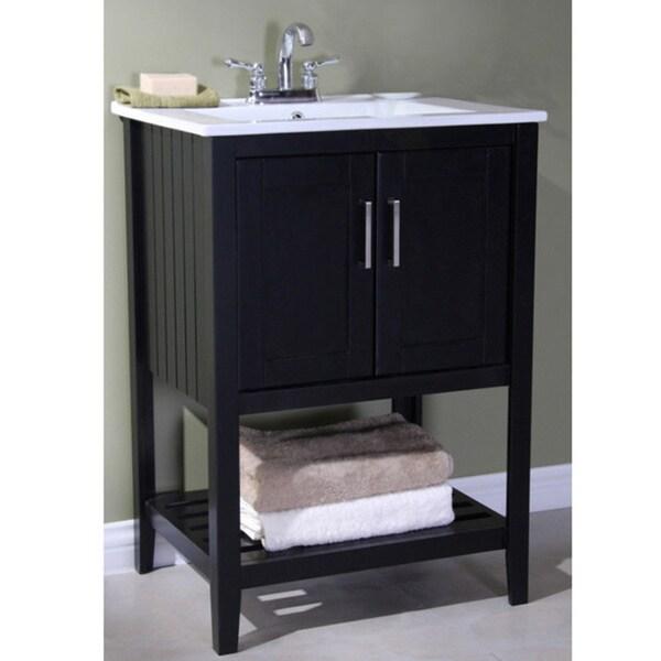 Legion Furniture Ceramic-top 24-inch Single Sink Bathroom Vanity