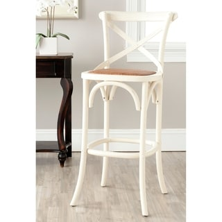 Home Styles White Distressed Oak Bar Stool 14191137