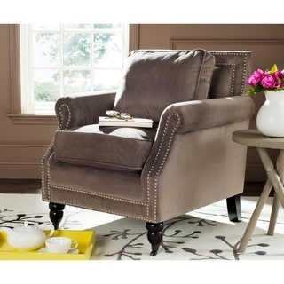 Safavieh Manchester Green Grey Club Chair 13688890 Overstock Com Shopping Great