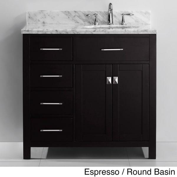 Virtu USA Caroline Parkway 36-inch Single-sink Bathroom ...