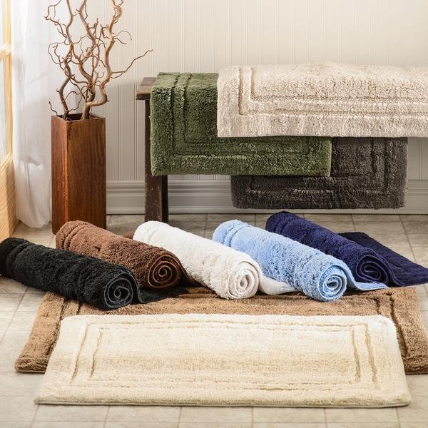 Superior Collection Luxurious Cotton Non Skid 2 Piece Bath