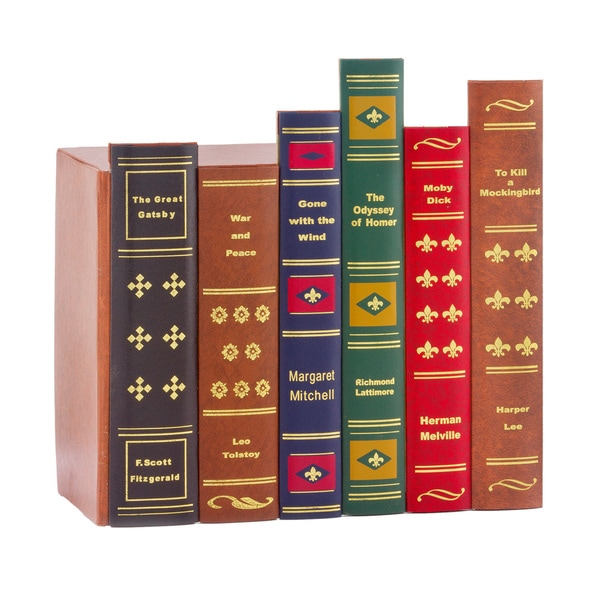 Faux Book Spines 15641075 Overstock Shopping The