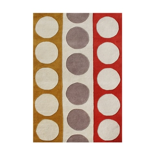 Hand Tufted Stage Wool Rug 7 6 X 9 6 13704153