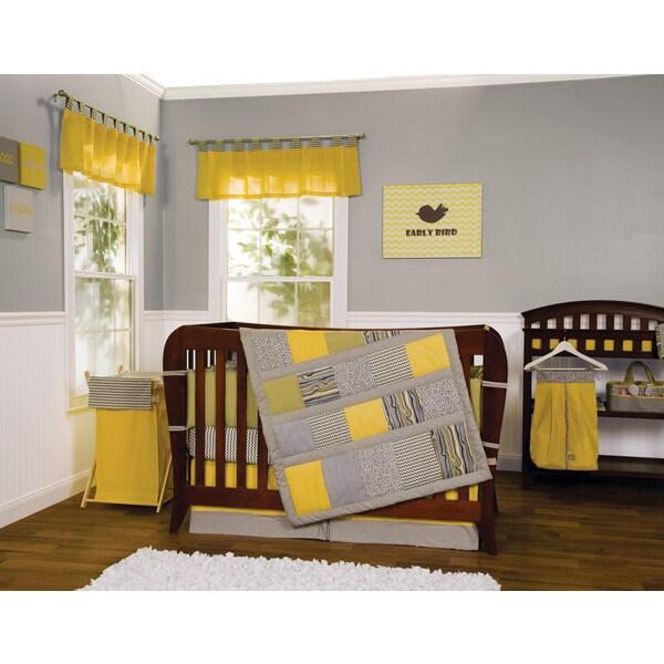 Trend Lab 5 Piece Hello Sunshine Crib Bedding Set