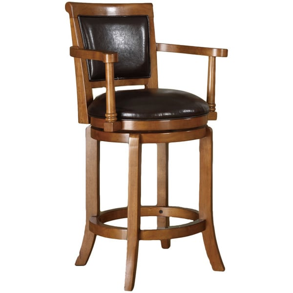 Shop Tribecca Home Watson 24 Inch Counter Height Chair: Manchester 24-inch High Swivel Counter Stool In Classic