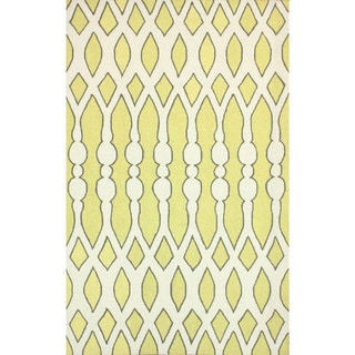 Yellow Patterned Area Rugs Overstock Shopping Decorate