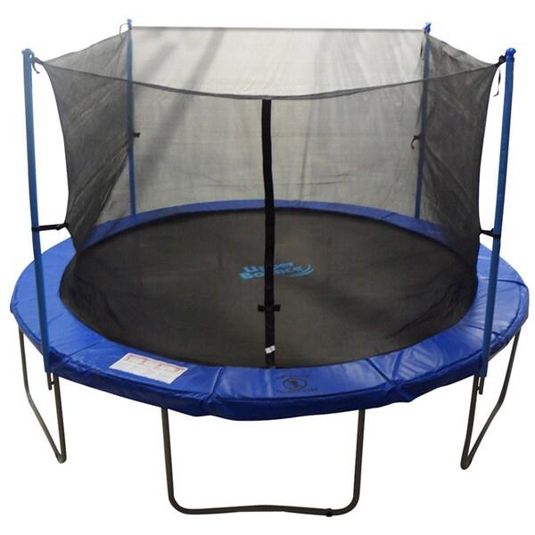10ft Trampoline Youtube: Trampoline Enclosure Set For 10 Ft. Round Frame