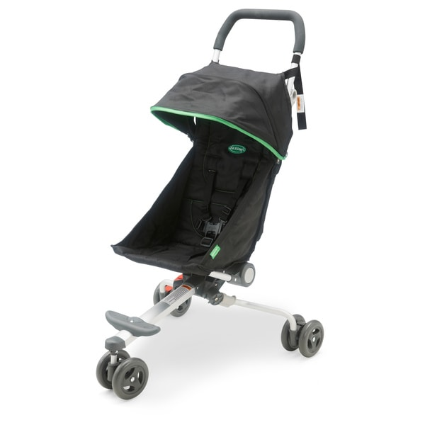 Quicksmart Backpack Stroller In Black And Lime 15657536