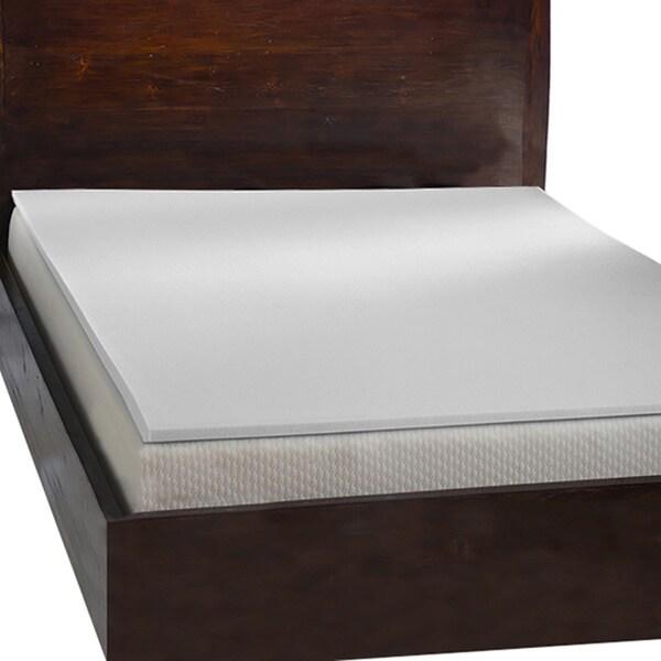 Comfort Dreams 1 Inch Antimicrobial Memory Foam Mattress