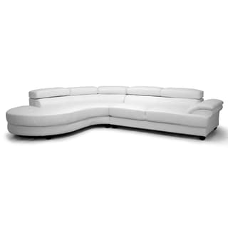 White Sectional Sofas Overstock Shopping Stylish
