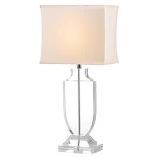 Safavieh Indoor 1 Light Deirdre White Shade Crystal Urn