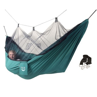 Parachute Silk Waterproof Two Person Hammock With Stuff