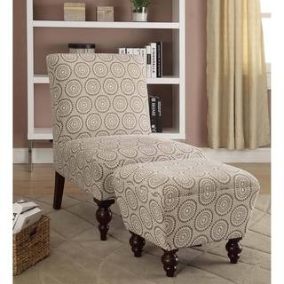 Chair Amp Ottoman Sets Living Room Chairs Overstock