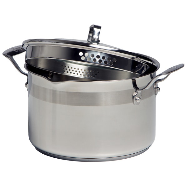 Emeril By All Clad Stainless Steel 5 Quart Dutch Oven