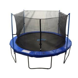 10 Foot Trampoline Enclosure Net For Round Frame Using 4