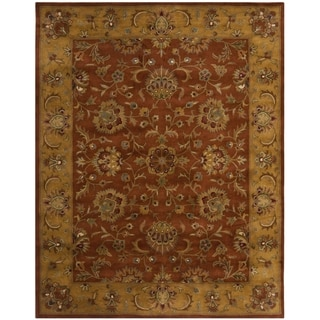 Safavieh Handmade Antiquities Kasadan Olive Green Wool Rug