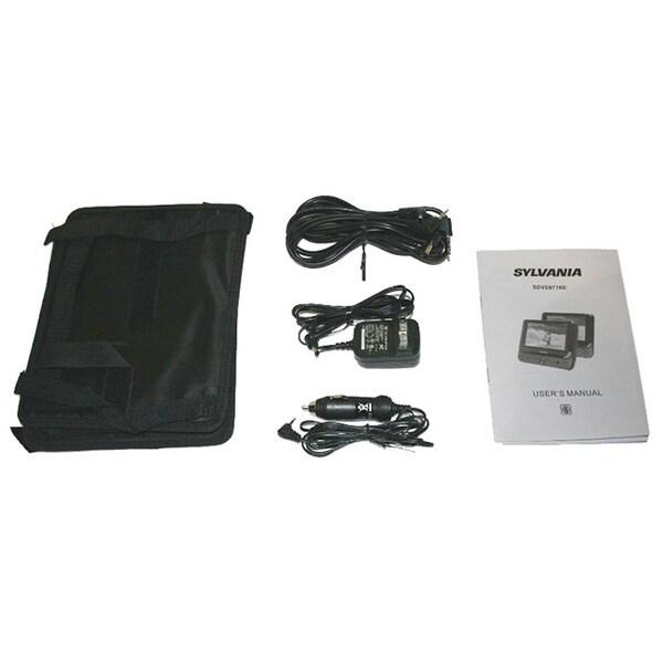 Sylvania sdvd9805 manual   9″ dual dvd dual screen portable dvd.