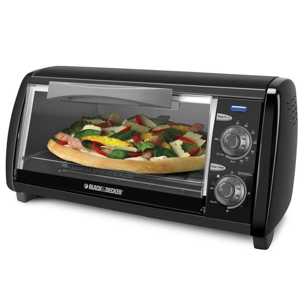 Black Amp Decker Countertop Toaster Oven 15689899