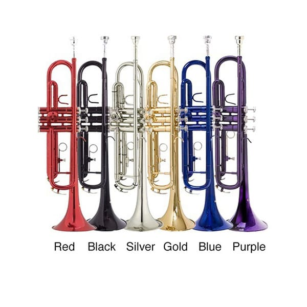 Bb Student Colored Trumpet And Giardinelli Care Kit B A C Aa C D F E on Trumpet Valve Snake
