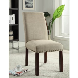 Bellcrest Button Tufted Upholstered Dining Chairs Set Of