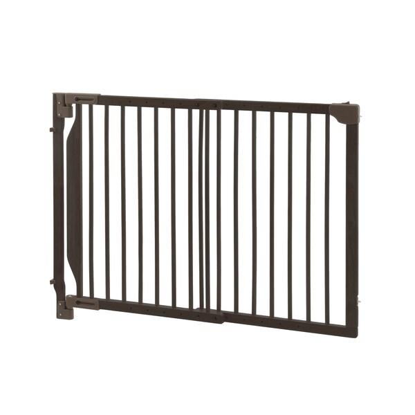 Richell Expandable Walk Thru Pet Gate 15700074