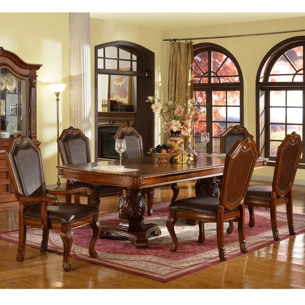 Traditional Formal Dining Room Sets: Cervera 9-piece Formal Dining Set