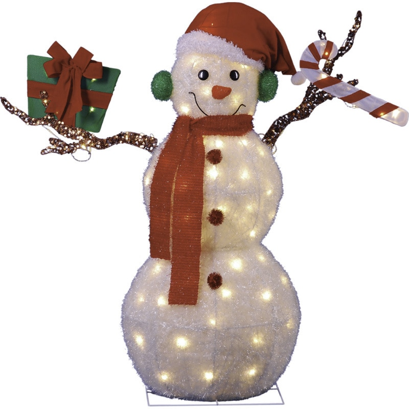 Animated Christmas Decorations Indoor 43-inch Animated Lighted