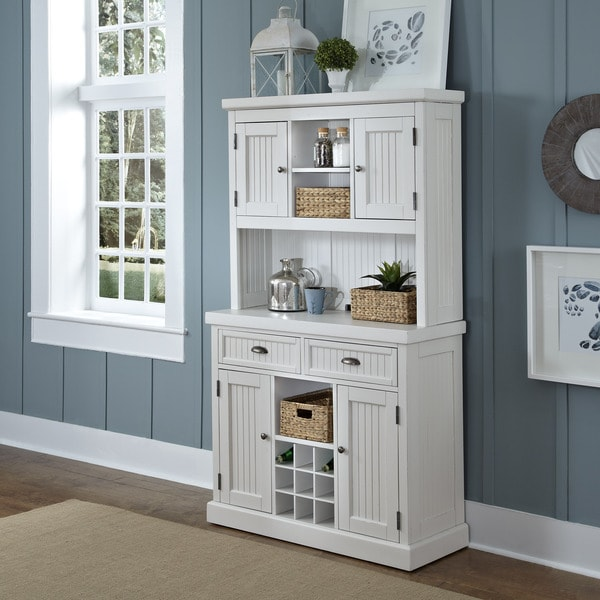 Home Styles Nantucket Distressed Buffet And Hutch