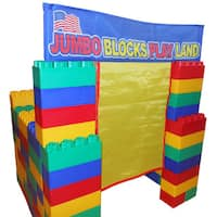 Kids Adventure Jumbo Blocks 99-piece Play House