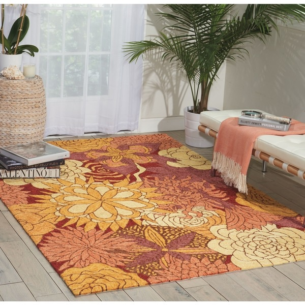 Nourison South Beach Spice Rug - 2'6 x 4'