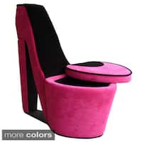 High Heel Storage Chair