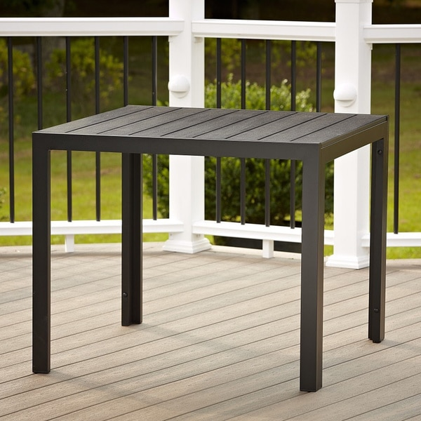 Cosco Outdoor Resin Slat Dining Table 15737211