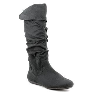 Rampage Women S Bridge Faux Suede Boots