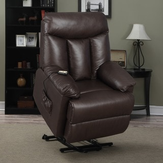 Awe Inspiring Price Aquify Prolounger Lya Brown Renu Leather Power Recline Caraccident5 Cool Chair Designs And Ideas Caraccident5Info